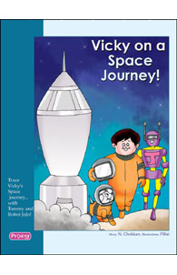 Vicky on a Space Journey
